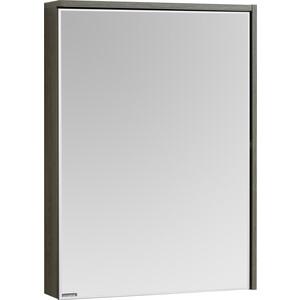 Зеркальный шкаф Акватон Стоун 60 грецкий орех, с подсветкой (1A231502SXC80)