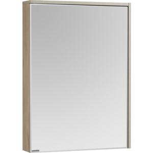 Зеркальный шкаф Акватон Стоун 60 сосна арлингтон, с подсветкой (1A231502SX850)