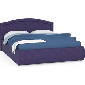 Кровать интерьерная Нижегородмебель Виго подъемный ортопед, ткань савана фиолет (фиолетовый)
