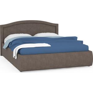 Кровать интерьерная Нижегородмебель Виго подъемный ортопед, ткань савана хазел (карий)
