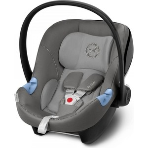 Автокресло Cybex Aton M i-Size Manhattan Grey автокресло cybex aton basic rumba red