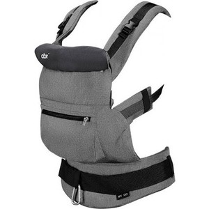 Кенгуру переноска CBX by Cybex My.GO Comfy Grey автокресло cbx by cybex aton basic cbx comfy grey 518001563