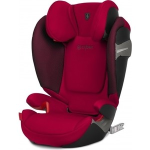 Автокресло Cybex Solution S-Fix FE Ferrari Racing Red автокресло cybex cloud z i size fe ferrari silver grey