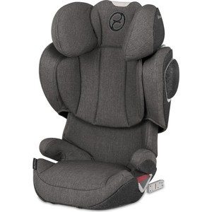 Автокресло Cybex Solution Z-fix Plus Manhattan Grey автокресло cybex solution x2 fix blue moon 515117003