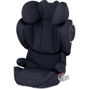 Автокресло Cybex Solution Z-fix Plus Midnight Blue автокресло cybex solution x2 fix blue moon 515117003