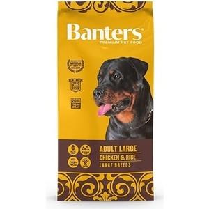 Сухой корм Banters Adult Dog Large Breeds Chicken & Rice с курицей и рисом для собак крупных пород 15кг (BAM55AG15)