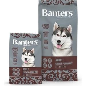 Сухой корм Banters Adult Dog All Breeds Grain Free Chiken беззерновой с курицей для собак всех пород 3кг (BAM67GF03)