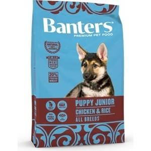 Сухой корм Banters Puppy Junior All Breeds Chicken & Rice с курицей и рисом для щенков юниоров всех пород 15кг (BAM25PM15)