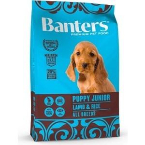 цена на Сухой корм Banters Puppy Junior All Breeds Lamb & Rice с ягненком и рисом для щенков и юниоров всех пород 15кг (BAM28PL15)