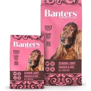 Сухой корм Banters Senior Dog Light All Breeds Chicken & Rice с курицей и рисом для пожилых собак 3кг (BAM80SL03)