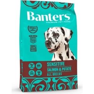 Сухой корм Banters Sensitive Dog Salmon & Potato с лососем картофелем для собак чувствительным пищеварением 15кг (BAM90SE15)