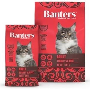 Сухой корм Banters Adult Cat Turkey & Rice с индейкой и рисом для кошек 8кг (BAD52TU08)
