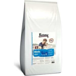 Сухой корм Karmy Maxi Adult Dog Телятина для взрослых собак крупных пород 15кг