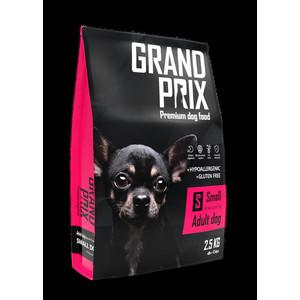 Сухой корм Grand Prix Small Adult Dog Hypoallergenic Gluten Free гипоаллергенный, без глютена с курицей для собак мелких пород 2,5кг