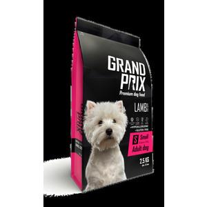 Сухой корм Grand Prix Small Adult Dog Hypoallergenic Gluten Free Lamb гипоаллергенный, без глютена с ягненком для собак мелких пород 2,5кг