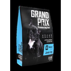 Сухой корм Grand Prix Medium Junior Dog Hypoallergenic Gluten Free гипоаллергенный, без глютена с курицей для щенков средних пород 2,5кг