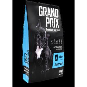 Сухой корм Grand Prix Medium Junior Dog Hypoallergenic Gluten Free гипоаллергенный, без глютена с курицей для щенков средних пород 12кг