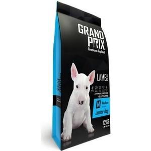 Сухой корм Grand Prix Medium Junior Dog Hypoallergenic Gluten Free Lamb гипоаллергенный, без глютена с ягненком для щенков средних пород 12кг