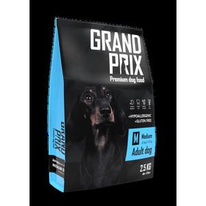 Сухой корм Grand Prix Medium Adult Dog Hypoallergenic Gluten Free гипоаллергенный, без глютена с курицей для собак средних пород 2,5кг