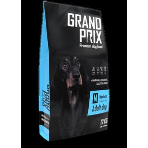 Сухой корм Grand Prix Medium Adult Dog Hypoallergenic Gluten Free гипоаллергенный, без глютена с курицей для собак средних пород 12кг
