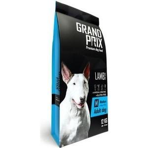 Сухой корм Grand Prix Medium Adult Dog Hypoallergenic Gluten Free Lamb гипоаллергенный, без глютена с ягненком для собак средних пород 12кг
