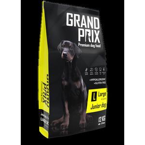 Сухой корм Grand Prix Large Junior Dog Hypoallergenic Gluten Free гипоаллергенный, без глютена с курицей для щенков крупных пород 12кг