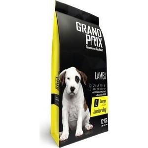Сухой корм Grand Prix Large Junior Dog Hypoallergenic Gluten Free Lamb гипоаллергенный, без глютена с ягненком для щенков крупных пород 12кг