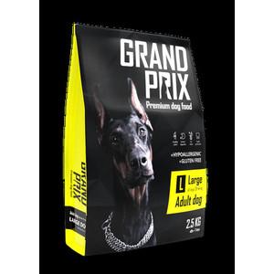 Сухой корм Grand Prix Large Adult Dog Hypoallergenic Gluten Free гипоаллергенный, без глютена с курицей для собак крупных пород 2,5кг