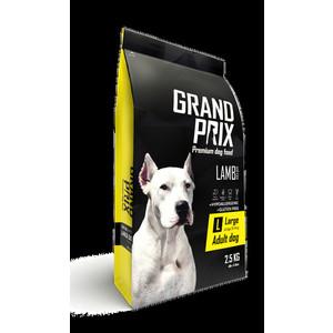 Сухой корм Grand Prix Large Adult Dog Hypoallergenic Gluten Free Lamb гипоаллергенный, без глютена с ягненком для собак крупных пород 2,5кг