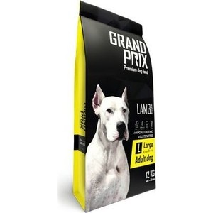 Сухой корм Grand Prix Large Adult Dog Hypoallergenic Gluten Free Lamb гипоаллергенный, без глютена с ягненком для собак крупных пород 12кг