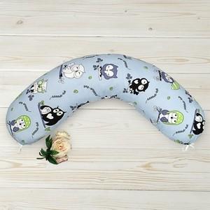 Подушка для беременных AmaroBaby WB 170х25 (Совы)