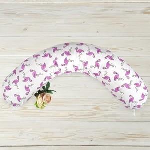 Подушка для беременных AmaroBaby WB 170х25 (Фламинго)