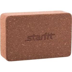 цена на Блок для йоги Starfit FA-102 пробка