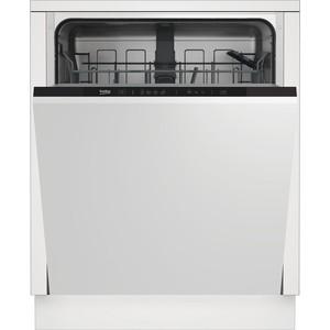 Встраиваемая посудомоечная машина Beko DIN 14W13 посудомоечная машина beko dfs 05012 w