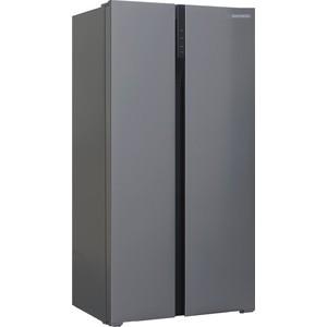 лучшая цена Холодильник Shivaki SBS-574DNFX