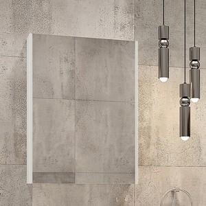Зеркальный шкаф Velvex Klaufs 60 белый (zsKLA.60-216)