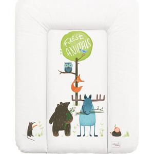 Матрас пеленальный Ceba Baby 70*50 см мягкий на комод Animals W-143-103-100