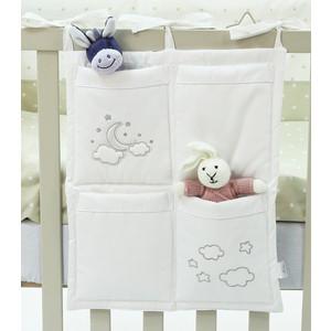 Органайзер с карманами на кроватку Funnababy Luna Chic 40*50 см