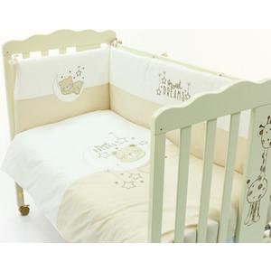 Комплект детского постельного белья Funnababy Dreams beige 5 предметов 120*60