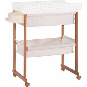 Комод пеленальный с ванночкой и текстильной корзиной Micuna B-1158 Plus honey матрасик beige dots комод пеленальный с ванночкой italbaby angioletti белый