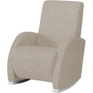Кресло качалка Micuna Wing/Confort white/soft brown