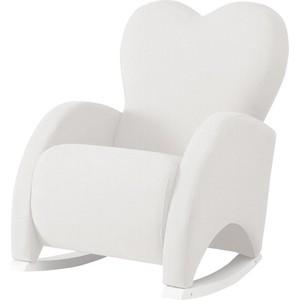 Кресло качалка Micuna Wing/Love Relax white/white искусственная кожа