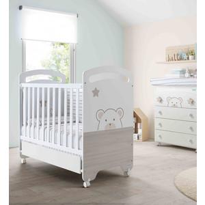 Кроватка Micuna Bubu 120*60 white