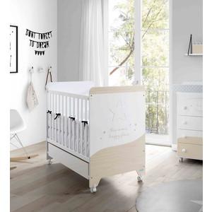 Кроватка Micuna Cosmic 120*60 white/nordic