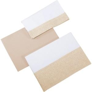 Комплект детского постельного белья Micuna Galaxy 3 предмета 120*60 ТХ-821 beige
