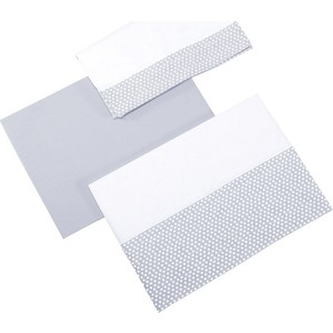 Комплект детского постельного белья Micuna Galaxy 3 предмета 120*60 ТХ-821 grey