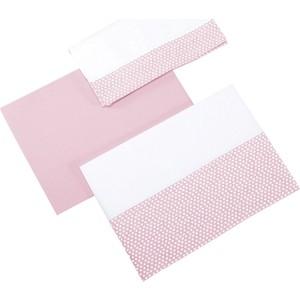 Комплект детского постельного белья Micuna Galaxy 3 предмета 140*70 ТХ-823 pink