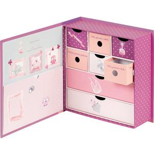Коробка Nattou Adele Valentine Слоник и Мышка для сокровищ 424530
