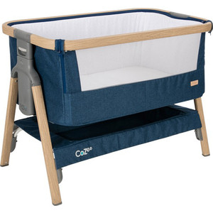 Колыбель Tutti Bambini CoZee Oak and Midnight Blue 211205/3594