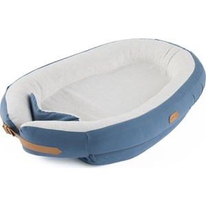 Позиционер для сна Voksi Матрасик кокон Baby Nest Premium Blue 10010227